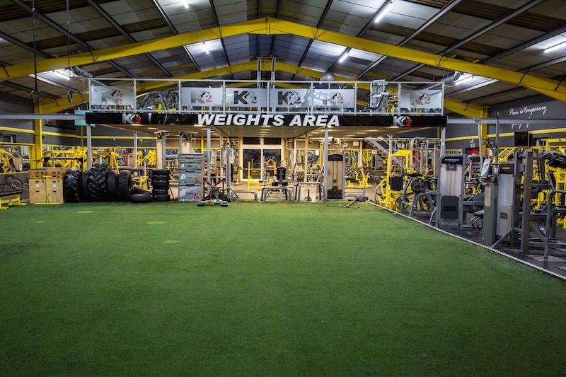 K2 Gym Circuit Area